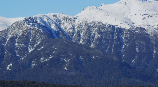 Western side of the Snowy Mountains NSW August 2015